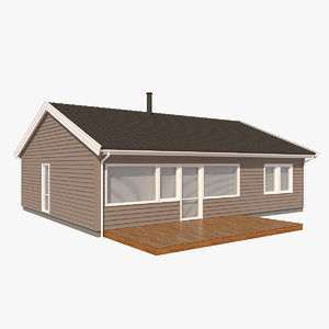 3d realistic house thales nb
