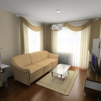 3ds max apartment 1