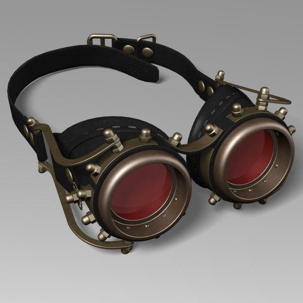 max steampunk goggles