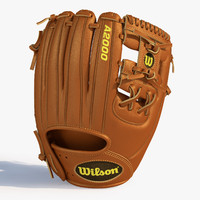 3d model of baseball glove base