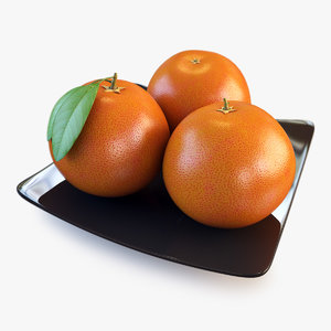3ds max orange grapefruit