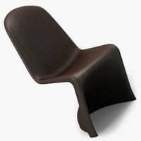 3ds max panton chair