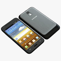 3d model samsung galaxy s ii