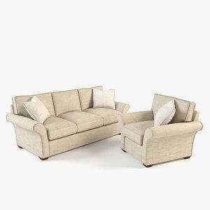 3ds max sofa armchair chair