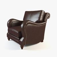 armchair arm chair 3d max