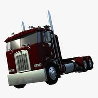 3d model k100 truck drom