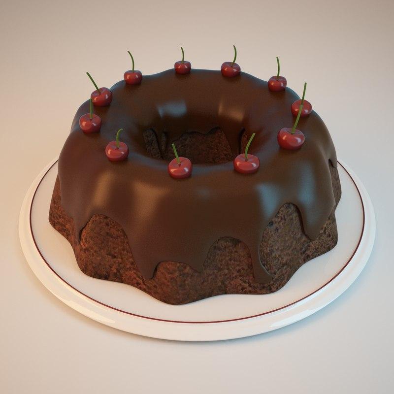 3ds chocolate cake