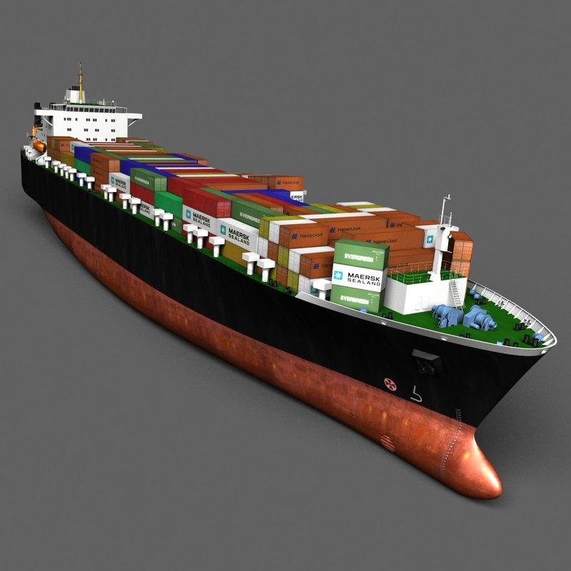 ship vessel 3ds