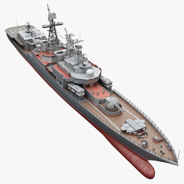 bpk russian large antisubmarine 3d model