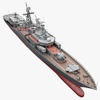 BPK Russian Large Antisubmarine Ship Admiral Chabanenko