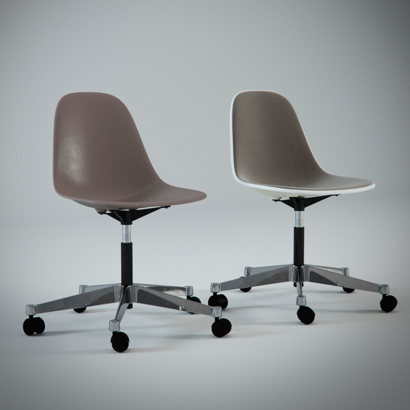3d charles eames plastic chair