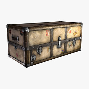 old steamer trunk max