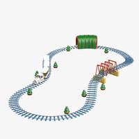 Toy Railroad