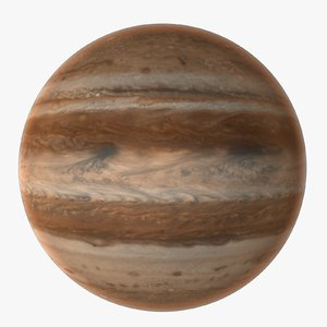 jupiter planet 3d model