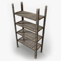 rack metal 3d model
