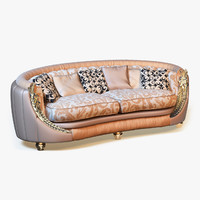 3d photorealistic sofa
