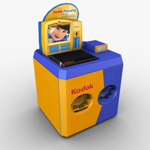 Retail - Kodak Photo Kiosk