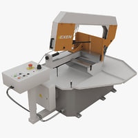 band saw machine 8b230 3d model