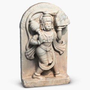 hanuman sculpture 3ds