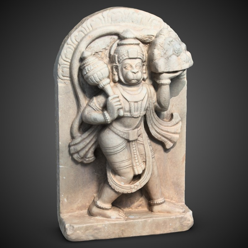 hanuman sculpture 3ds