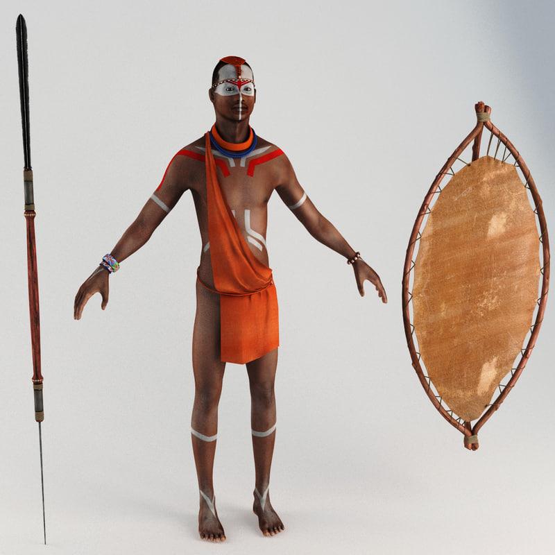african indigene static 3ds