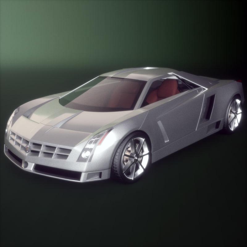 car cadillac cien 3d model