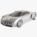 cadillac cien 3D models