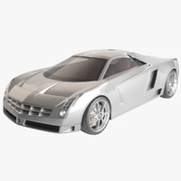 car cadillac cien 3d model