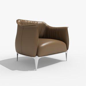 3ds archibald chair