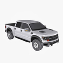 ford f 150 svt raptor 3D models