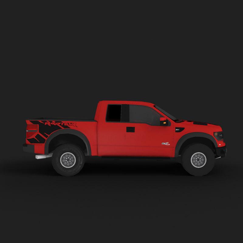 3d model raptor general