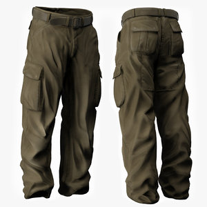 3ds max man s trousers -