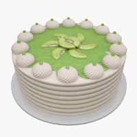 3d cake kiwi