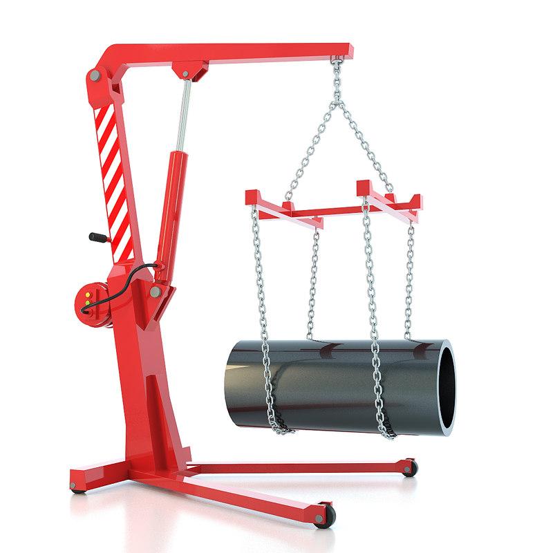 workshop crane max