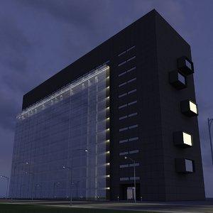 new skyscraper 21 - 3d max