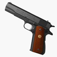 3d automatic pistol colt 1911 model