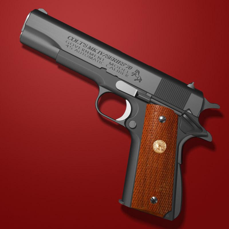 Colt 1911 Model 70 Mark IV