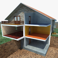 house cutaway scene max