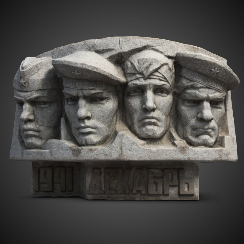 troops memorial koktebel 3d max