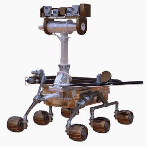 3ds max nasa mars rover spirit
