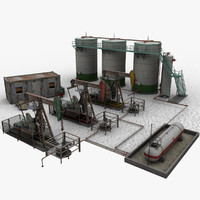 3d model oil field