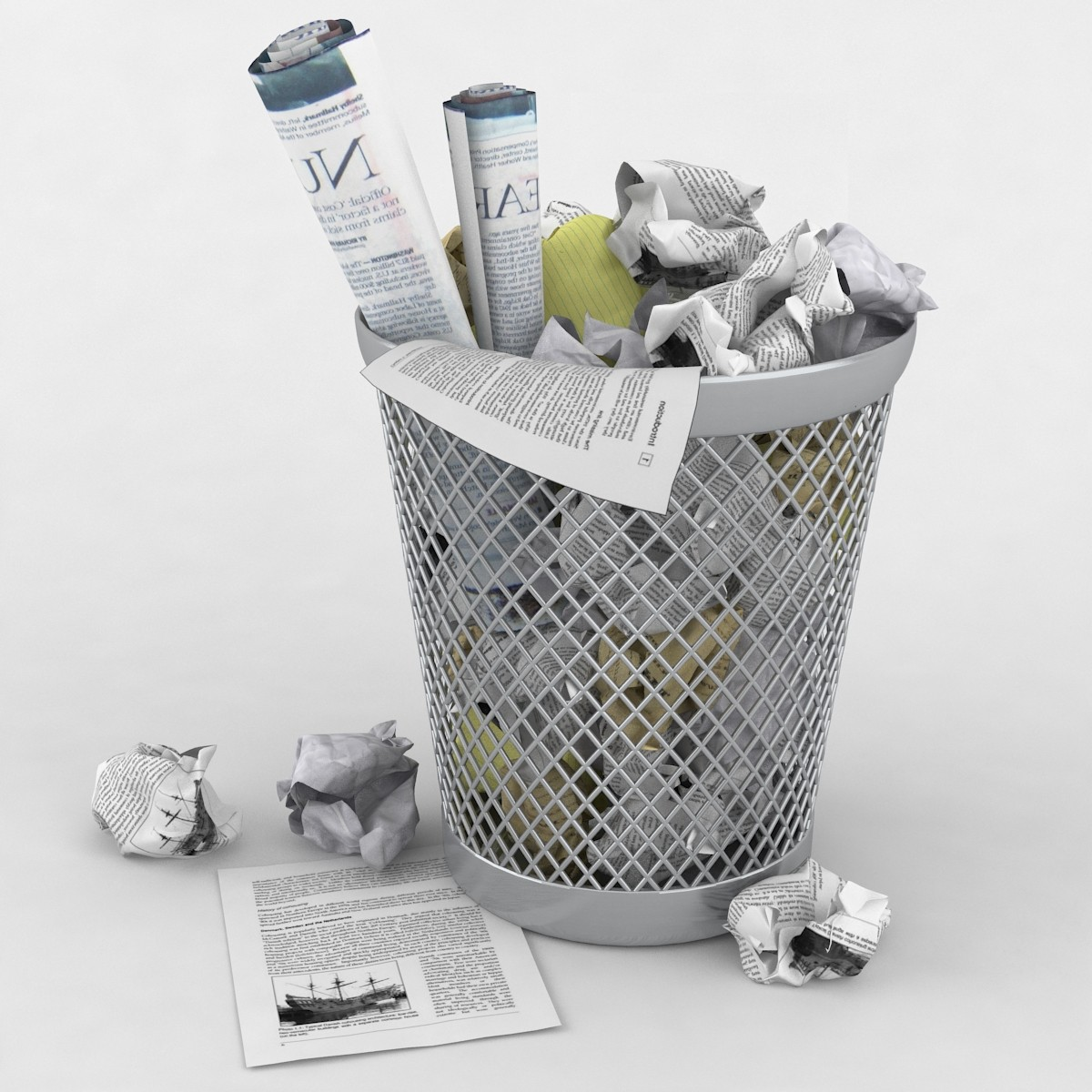 Waste Paper Basket Waste Paper Basket