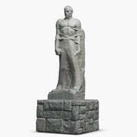 3d model memorial nazukin