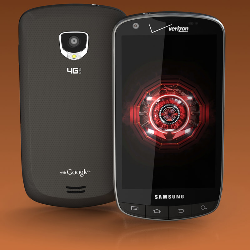 3d samsung droid charge model