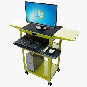max computer monitor cart