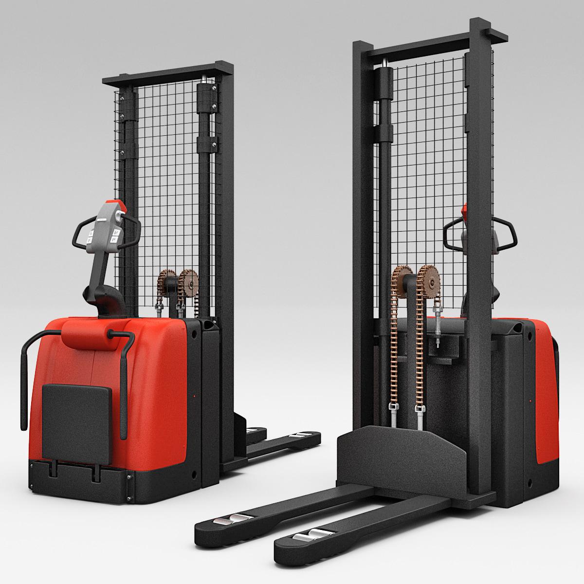 3d model electric pallet truck ept