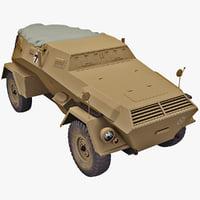 Germany WWII Armored Car KZF 247