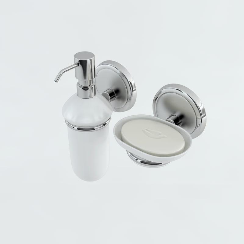 liquid soap bar 3d dxf