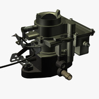 3d single downdraught carburetor