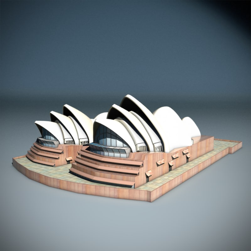 new wonders sydney opera 3ds